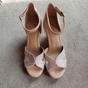 Shoes - Material Girl,  Bretta Wedges Sandals
